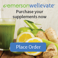 healthy foods surrounding a clickable link for supplements